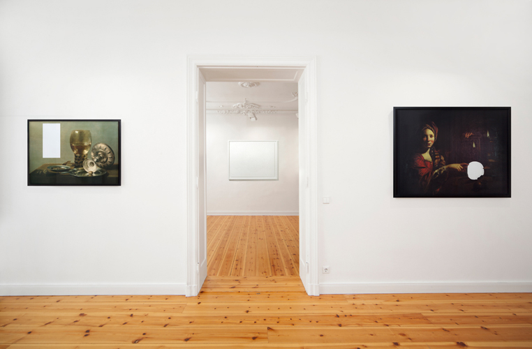 installation view, art by Michal Martychowiec