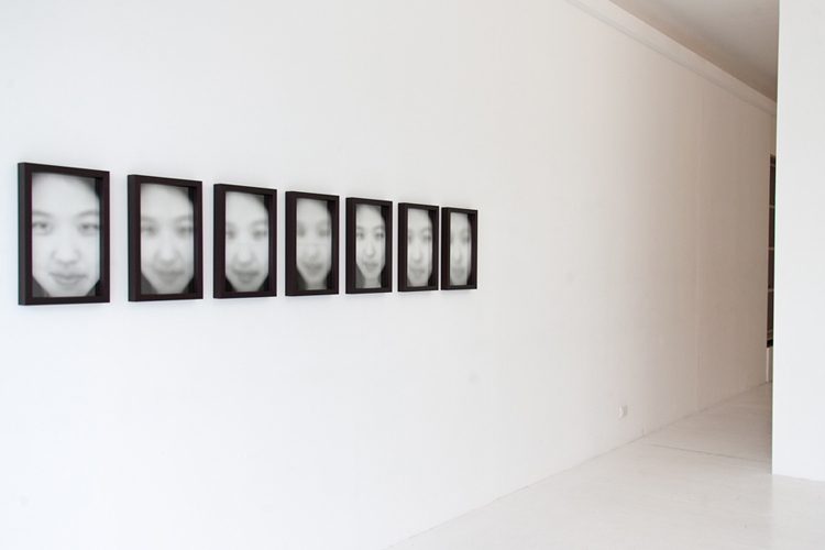 art by Michal Martychowiec at galleria upp in Venice